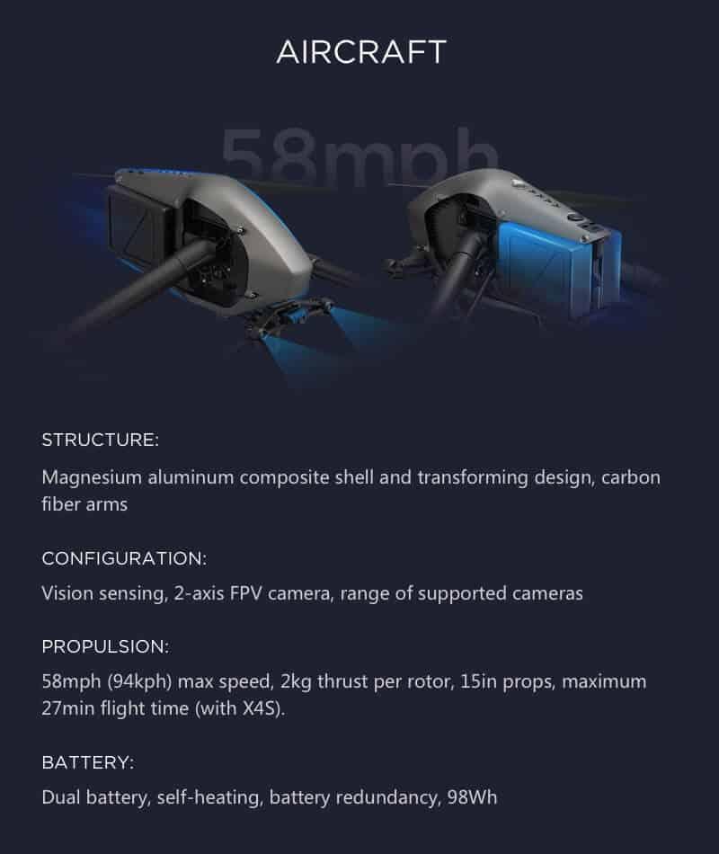 Inspire 2 Drone Specs Aircraft JWStuff 2