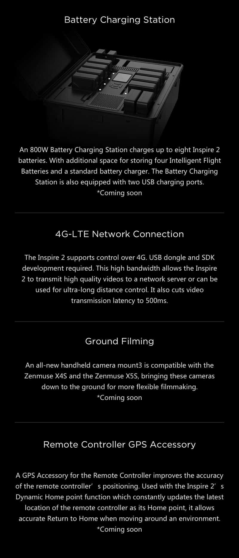 Inspire 2 Drone Specs Battery Charging Statino JWStuff