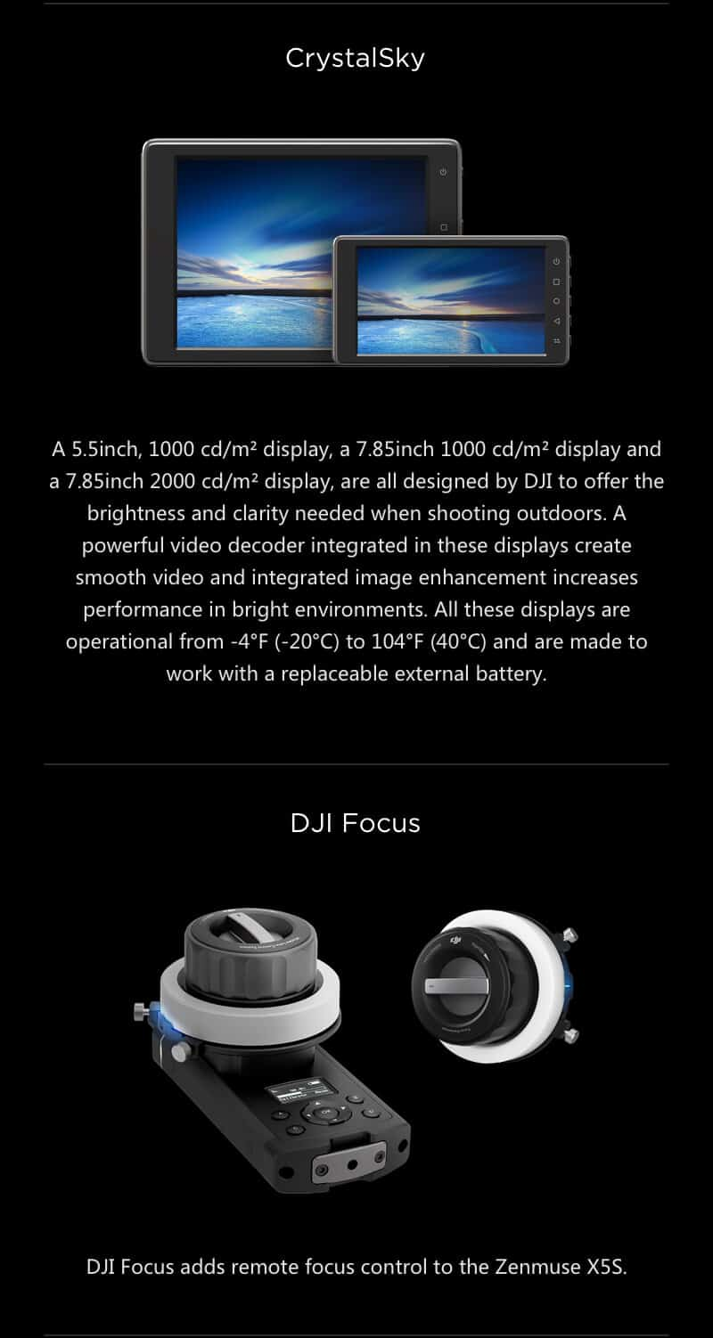 Inspire 2 Drone Specs CrystalSky JWStuff