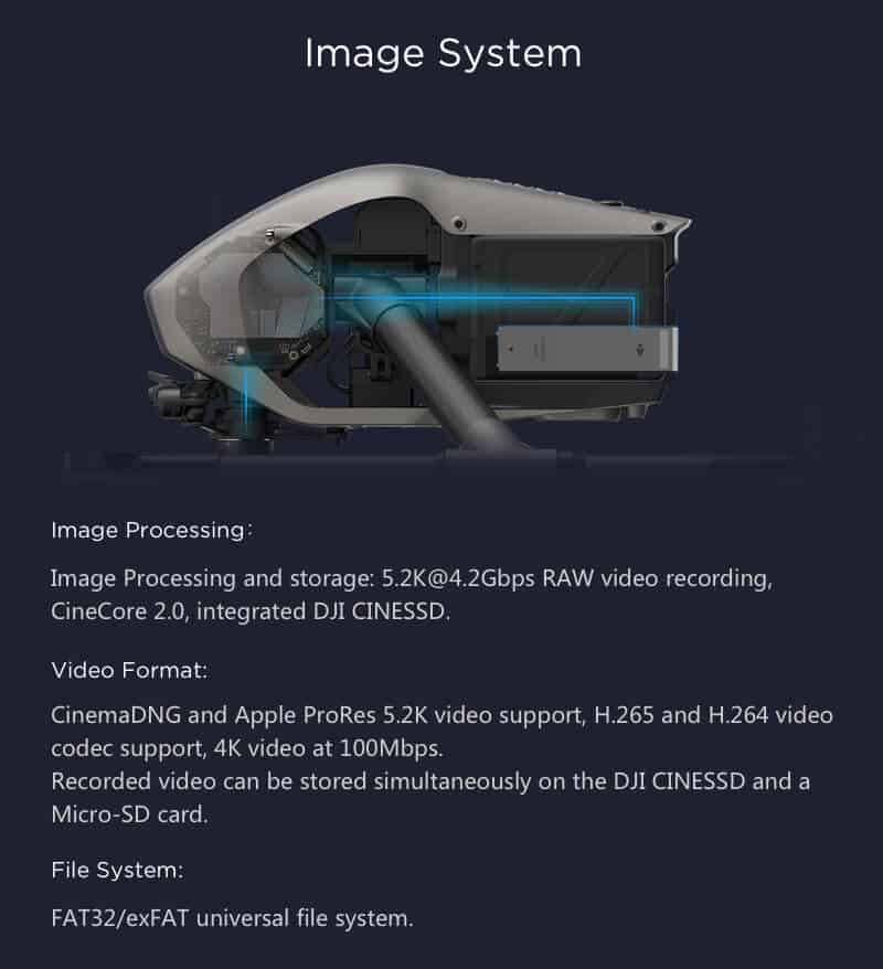 Inspire 2 Drone Specs Image System JWStuff 2