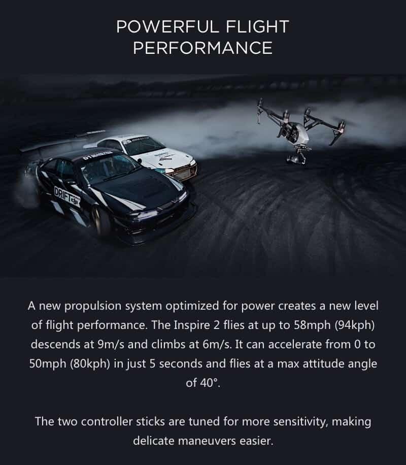 Inspire 2 Drone Specs Powerful Flight Performance JWStuff