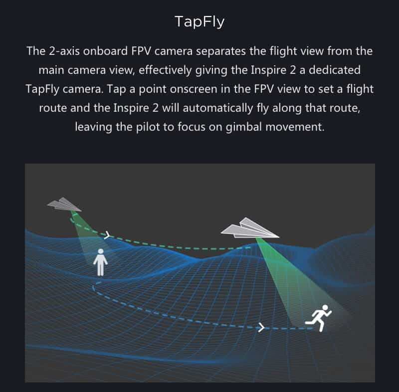 Inspire 2 Drone Specs Tapfly JWStuff
